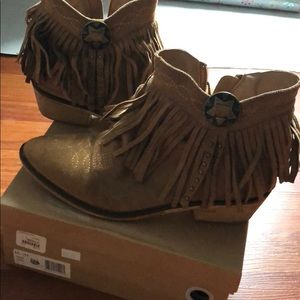 Cowgirl style booties